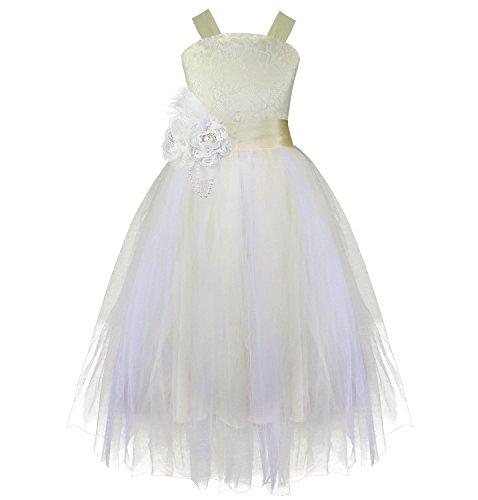 348856a7ea21 Jual iiniim Girls Kids Crossed Back Bridesmaid Wedding Pageant Party ...