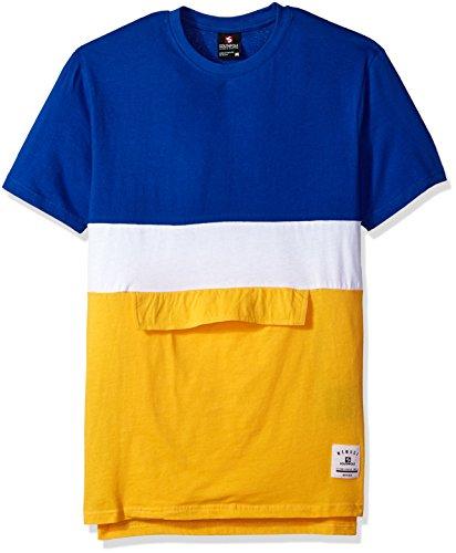 - Southpole Men's Short Sleeve Fashion Tee, Royal(Anorak), Large