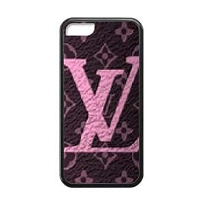 LINGH LV Louis Vuitton design fashion cell phone case for iPhone 5C