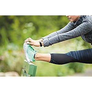 Fitbit Alta Fitness Tracker - stretching 1