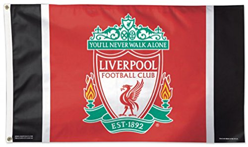 WinCraft Liverpool FC Flag Deluxe 3 x 5 - Liverpool Flag