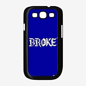 Broke Plastic Phone Case Back Cover Samsung Galaxy S3 I9300