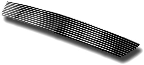 06 Ford Expedition Billet Grille - IPCW CWOB-03EXB Polished Billet Bumper Grille Bolt-On