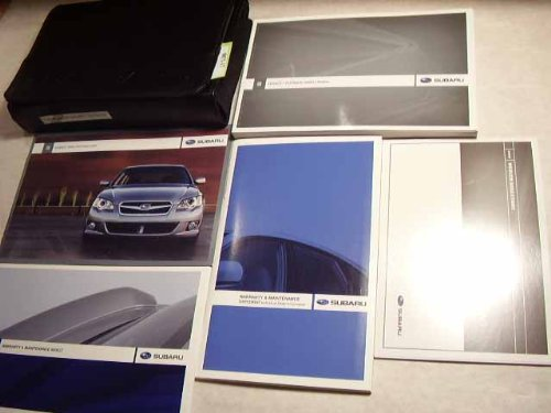 Subaru Outback Owners Manual - 2009 Subaru Legacy Outback Owners Manual