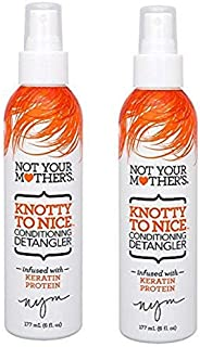 product image for Not Your Mothers Knotty To Nice Detangler 6 Ounce (177ml) (2 Pack)