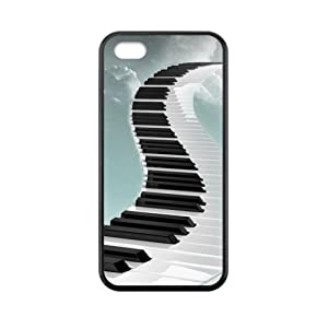 super shining day Discount Piano Pattern TPU Material Snap on Case Cover for iPhone 5C
