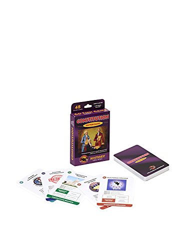 The Constitution Go Fish Game with Constitution Book
