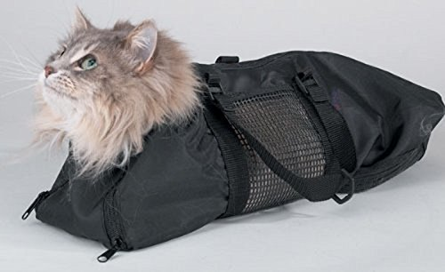 cc3fbd228c0 L&LH Cat Grooming Bag, Cat Restraint Bag, Cat Grooming Accessory with a  Sound small