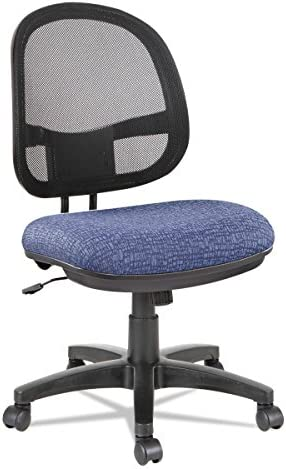 Alera ALE Interval Series Swivel Tilt Mesh Chair, Marine Blue