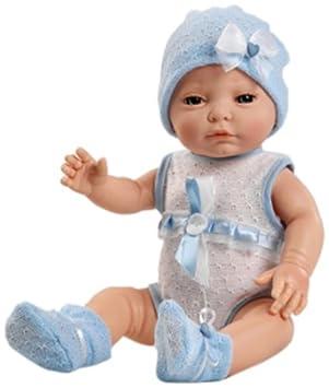 Amazon.es: Berjuan - Muñeco recién Nacido Blanco (con trajecito ...