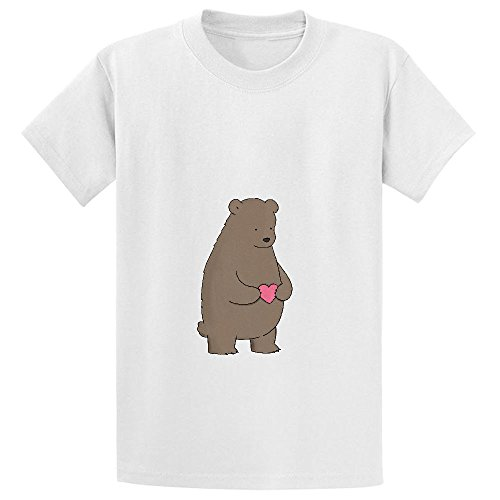 bear-heart-pink-kids-crew-neck-graphic-t-shirts-white