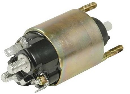 OEM Denso Starter Solenoid for Cub Cadet Lawn Tractors & Mowers (Cub Cadet Tractor Battery)