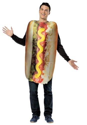 [Rasta Imposta Get Real Loaded Hot Dog, Multi, Standard] (Hot Dog Costume For Adults)