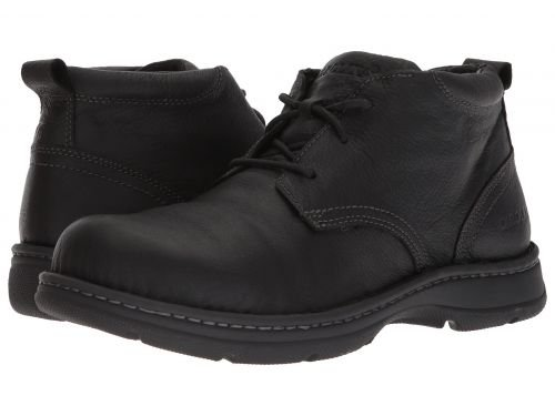 Carolina(カロライナ) メンズ 男性用 シューズ 靴 ブーツ 安全靴 ワーカーブーツ ESD Aluminum Toe Opanka Chukka CA3585 Tully Black Leather [並行輸入品] B07DNRK7DZ  8.5 D Medium