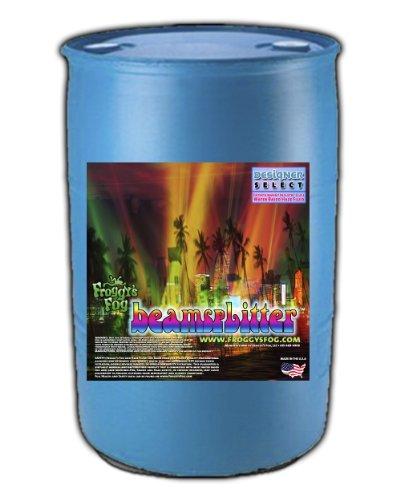(Beam Splitter - Professional Water Based Haze Fluid - 55 Gallon Drum - Works Amazing in Hurricane Haze 1D, Haze 2D and Haze 4D)