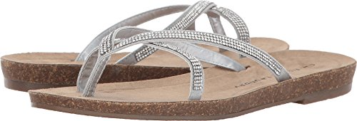 Micro Suede Sandals (Chinese Laundry Women's Nalla Silver Micro Suede Sandal)