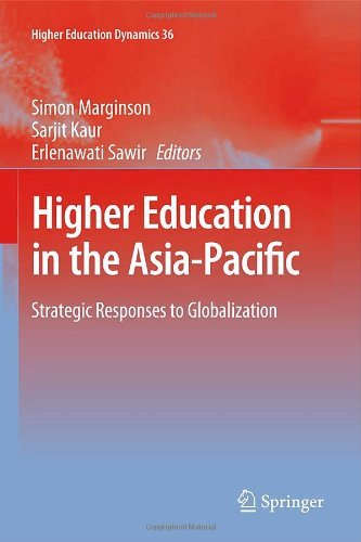 Download Higher Education in the Asia-Pacific: Strategic Responses to Globalization: 36 (Higher Education Dynamics) Pdf