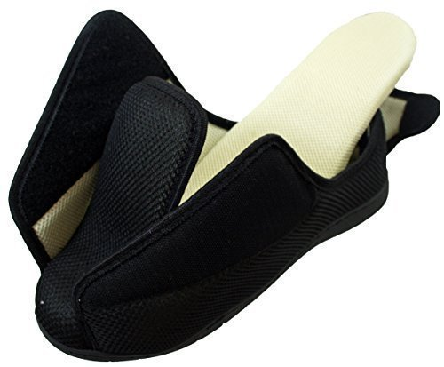 addd7a9ab932 Surf 4 Shoes Mens Ladies Very Wide E 5E Fit Fitting Memory Foam Breathable  Touch Fastening Slippers - Buy Online in KSA. Shoes products in Saudi  Arabia.