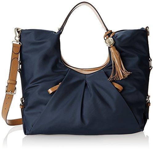 - Vince Camuto Cris Nylon Shopper Bag,Midnight,One Size