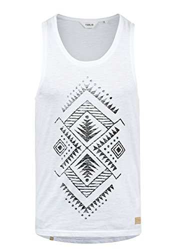 solid Tank 0001 nbsp; Top White Homme Isaak Z17ZwqF