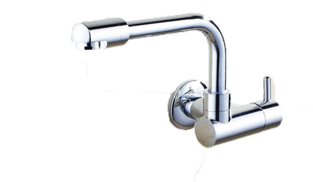 ZAOANAN Waschbecken Wasserhahn Küche Badezimmer Wasserfilter Kupfer Wandmontage Wandmontage Wandmontage Mopp-Pool Einzelkaltwasser 22Cm Becken Wasserhahn b2587d