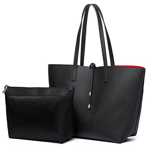 Faux Leather Tote - 8