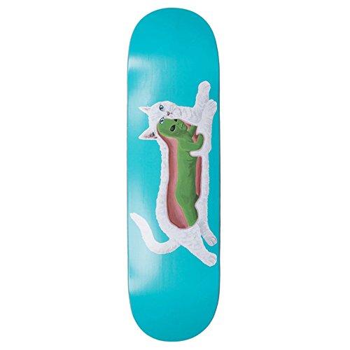 無謀従来の保育園Rip N Dip transnerm Skaeboard Deckスケートボードデッキ8インチAqua