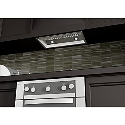 """1200 CFM Ducted Wall Mounted Range Hood Size: 14.2"""" H x 28"""" W x 15"""" D"""