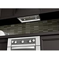 1200 CFM Ducted Wall Mounted Range Hood Size: 14.2 H x 28 W x 15 D