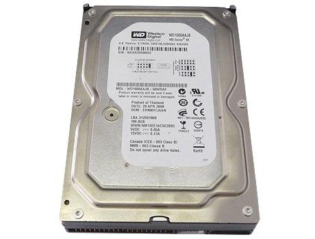 WD Blue 160 GB Desktop Hard Drive: 3.5 Inch, 7200 RPM, PATA, 8 MB Cache - WD1600AAJB