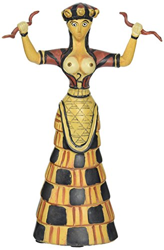 Design Toscano Cretan Snake Goddess Statue