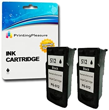 2 Negro Cartuchos de Tinta compatibles para Canon Pixma MP230 ...