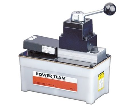 Power Team (SPX) PA6DM - PA6D Air-Driven Hydraulic Single Speed Pump -  Double-Acting, 0 45 gal Reservoir, 98 0 in³ Usable Capacity, 10000 psi Max,  6