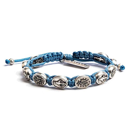My Saint My Hero-Miraculous-Light Blue Cording Bracelet