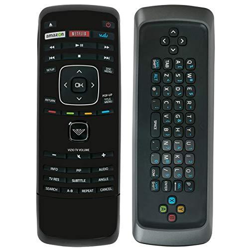 New XRB100 XRB300 Blu-Ray DVD Player Remote Control with Vudu Netflix Shortcut Internet APP Keys fit for Vizio VBR121 VBR122 VBR337 VBR338 VBR370 (Vizio Blue Ray Remote Control)