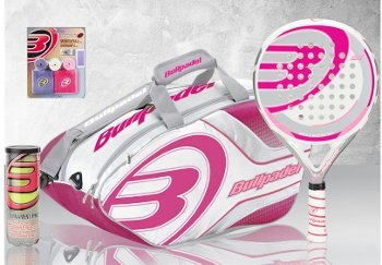 Bull Padel - Pack pádel mujer bullpadel hacker: Amazon.es ...