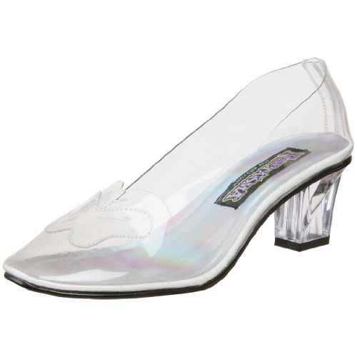 Funtasma by Pleaser Women's Crystal-103 Pump,Clear,11 M US Glinda Shoes