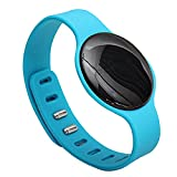 Happy Hours - Fashional H8 Bluetooth 4.0 Smart Watch Wristband / Sports Sleep Track Health Fitness Tracker Bracelet for iOS iPhone 5S/5C5/6 Android Samsung S3/S4/S5/Note2/Note3(Blue)