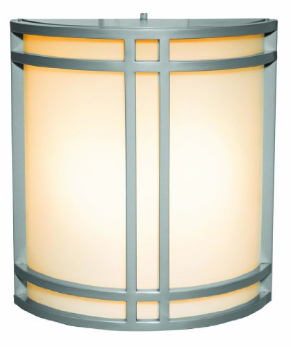 Bronze / Opal 2 Light Ambient Lighting Outdoor Wall Sconce From The Artemis Collection ()