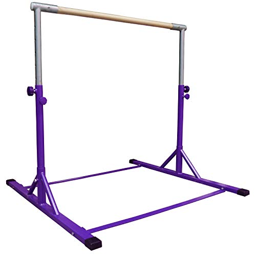 Z-Athletic Gymnastics Expandable Kip Bar (Purple)