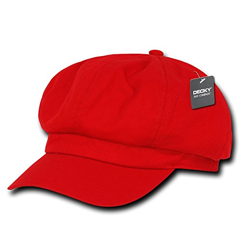 DECKY Apple Jack Hat, Red, Large/X-Large