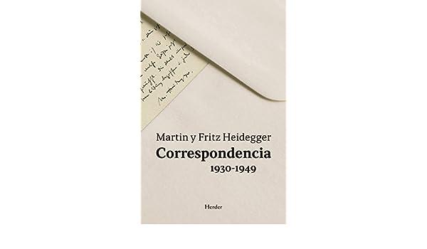 Correspondencia 1930-1949 eBook: Martin Heidegger, Fritz Heidegger ...