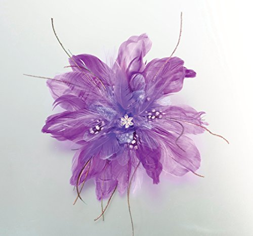 Lillian Rose Feather 6 Inch Purple product image