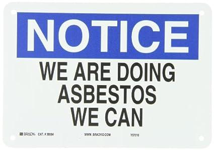 Asbestos funny