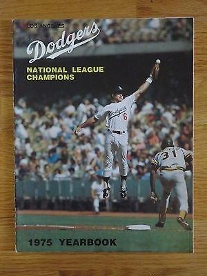 1975 Los Angeles Dodgers Yearbook