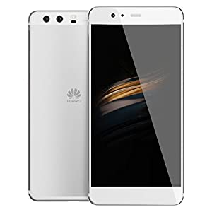 "Huawei P10 64GB VTR-L29 5.1"" Dual Sim Dual 20MP Camera - International Version, No Warranty, GSM ONLY (Silver)"