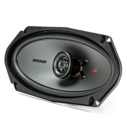 Kicker KSC41004 KSC4100 4x10 Coax Speakers with .5' tweeters 4-Ohm