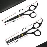 Sirabe 10 Pcs Hair Cutting Scissors