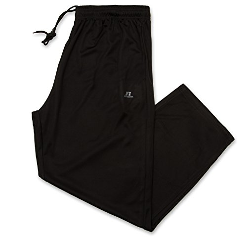 Russell Athletic Men's Big and Tall Dri-Power Pant Black/Cha