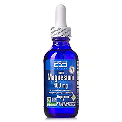 Trace Minerals Research® Liquid Ionic Magnesium 400 mg (2 ounce)